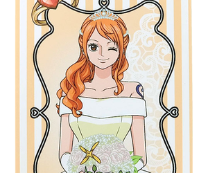 anime, nami, and one piece image