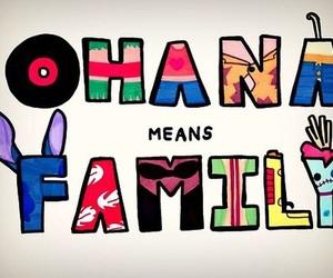 ohana, family, and disney image