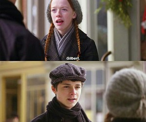 gilbert blythe, anne shirley, and anne image