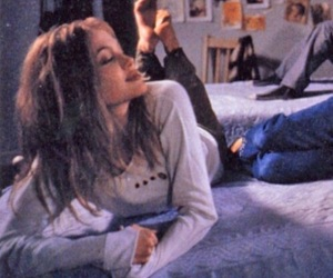 Angelina Jolie, girl interrupted, and grunge image
