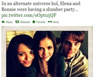 funny, the vampire diaries, and elena gilbert image