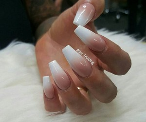 beauty, nails, and coffin image