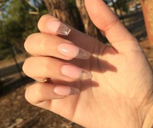 nails and clear image
