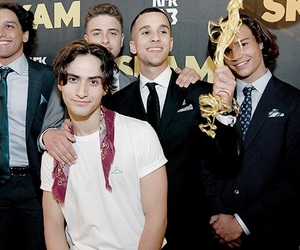 skam, balloon squad, and skam cast image