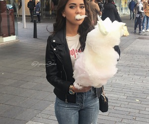 cotton candy, food, and tumblr image