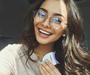 girl, glasses, and teen image
