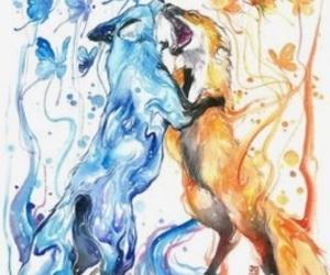 aquarelle, dessin, and peinture image