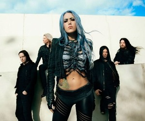 band, metal, and arch enemy image