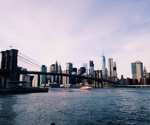 bridge, Brooklyn, and nyc image