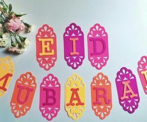 arab, eid, and eid mubarak image