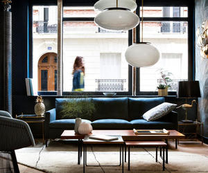chic, living, and room image