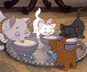 aristocats, disney, and cat image