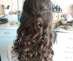 beauty, brunette, and fashion image