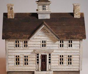 miniature, house, and doolhouse image