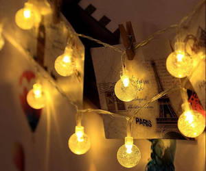 etsy, fairy lights, and home decor image