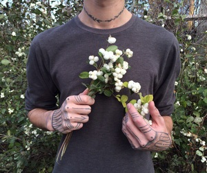 boy, flower, and cute image
