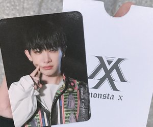 cards, 신호석, and monsta x image