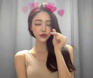 asia, ulzzang girl, and korean people image