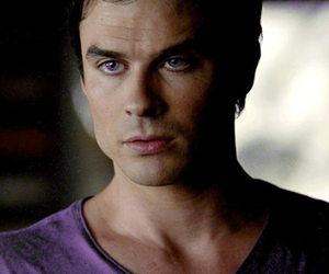 ian somerhalder, damon salvatore, and the vampire diares image