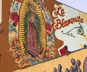 Catholic, chicano, and wall image