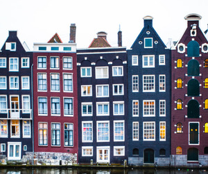 amsterdam, city, and building image