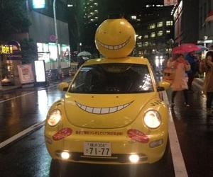 anime, car, and japan image