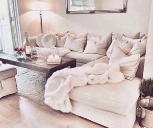 home, house, and couch image