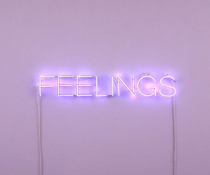 feelings, purple, and light image