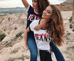 best friends and style image