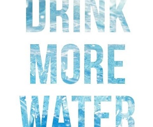 water, fitness, and healthy image