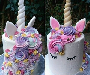 unicorn, pink, and sweet image