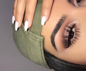 beauty, fashion, and brows image