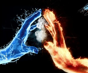 fire and water image