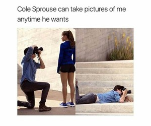 cole sprouse and photography image