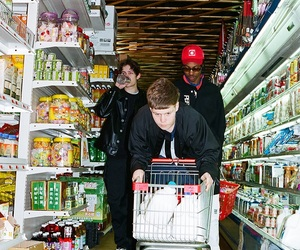 grunge, supermarket, and yung lean image