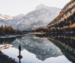 explore, lake, and life image
