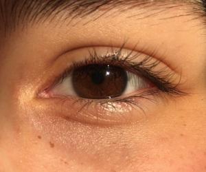 boring, brown, and eyes image