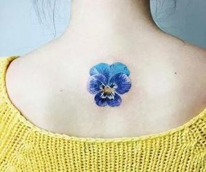 tattoo, beautiful, and blue image