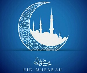 blessed, muslim, and eid image