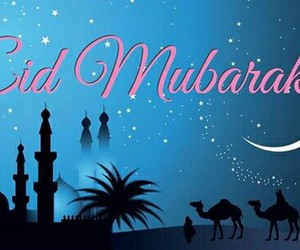 blessed, deen, and eid image