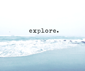 adventure, blue, and wanderlust image