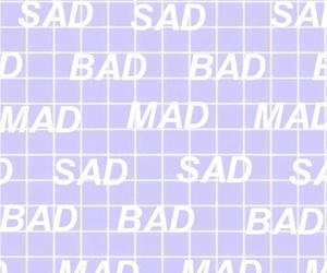 mad, aesthetic, and sad image