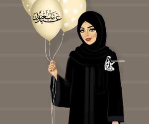 eid, eid mubarak, and عيد الفطر image