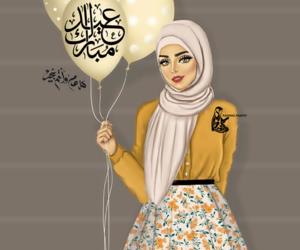 happy, eid, and عيد مبارك image