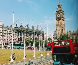 beautiful, Big Ben, and british flag image