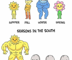 comic, funny, and summer image