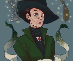 harry potter, hp, and minerva mcgonagall image