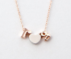 etsy, name necklace, and initial necklace image
