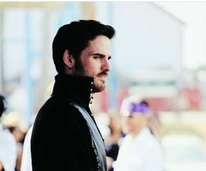 once upon a time, colin o'donoghue, and captain hook image