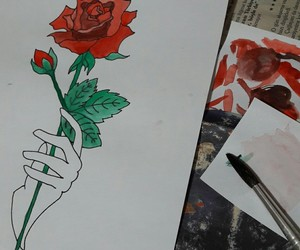 amateur, art, and draw image